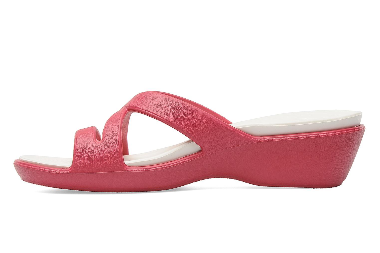 Clogs & Pantoletten Crocs Patricia 2 rosa ansicht von vorne