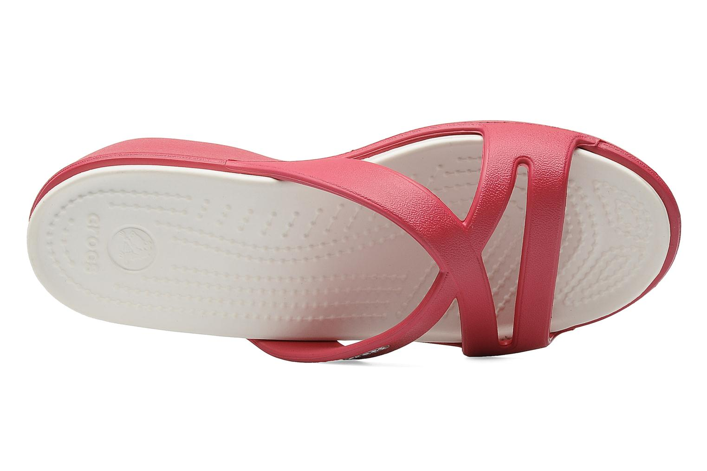 Clogs & Pantoletten Crocs Patricia 2 rosa ansicht von links
