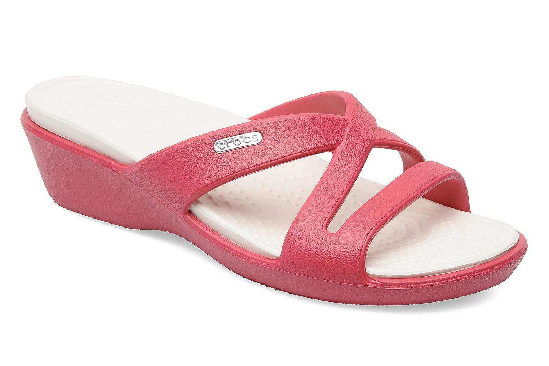 Clogs & Pantoletten Crocs Patricia 2 rosa detaillierte ansicht/modell