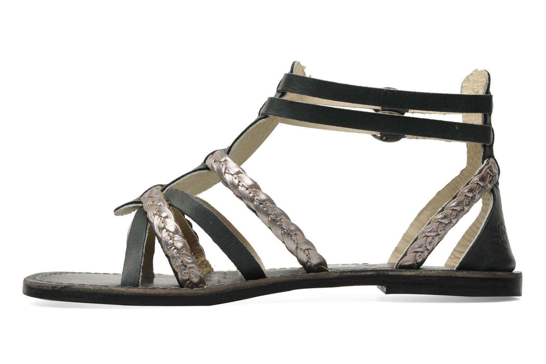 Sandalen Kickers Dionisia schwarz ansicht von vorne