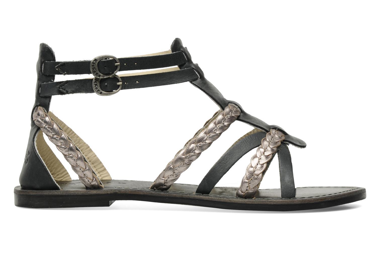 Sandalen Kickers Dionisia schwarz ansicht von hinten