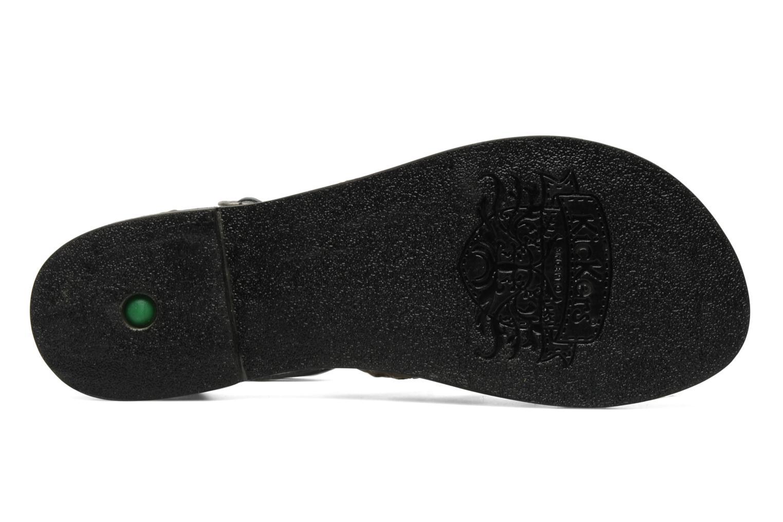 Sandalen Kickers Dionisia schwarz ansicht von oben