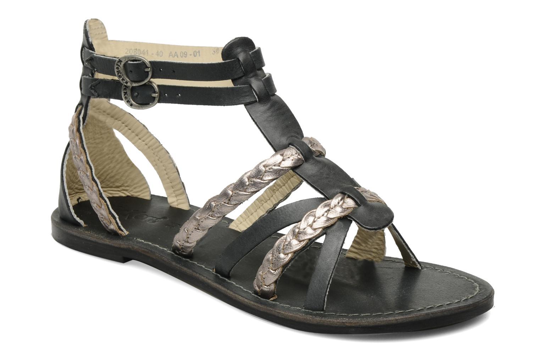 Sandalen Kickers Dionisia schwarz detaillierte ansicht/modell