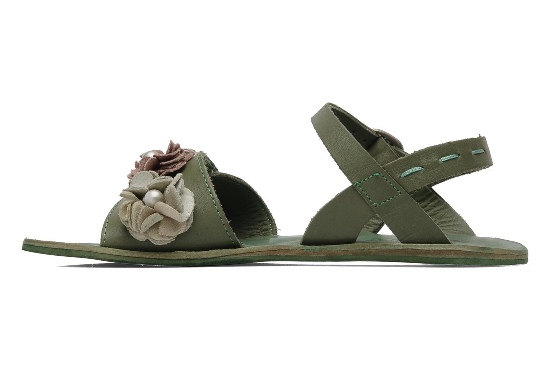 Sandalen Kickers Botanic Groen voorkant