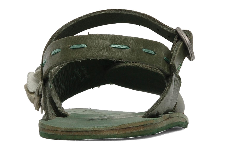 Sandalen Kickers Botanic Groen rechts