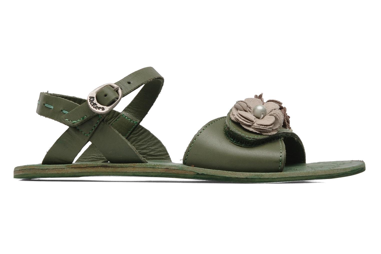 Sandalen Kickers Botanic Groen achterkant