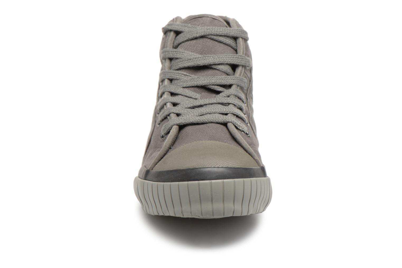 Baskets TBS Crypto Gris vue portées chaussures