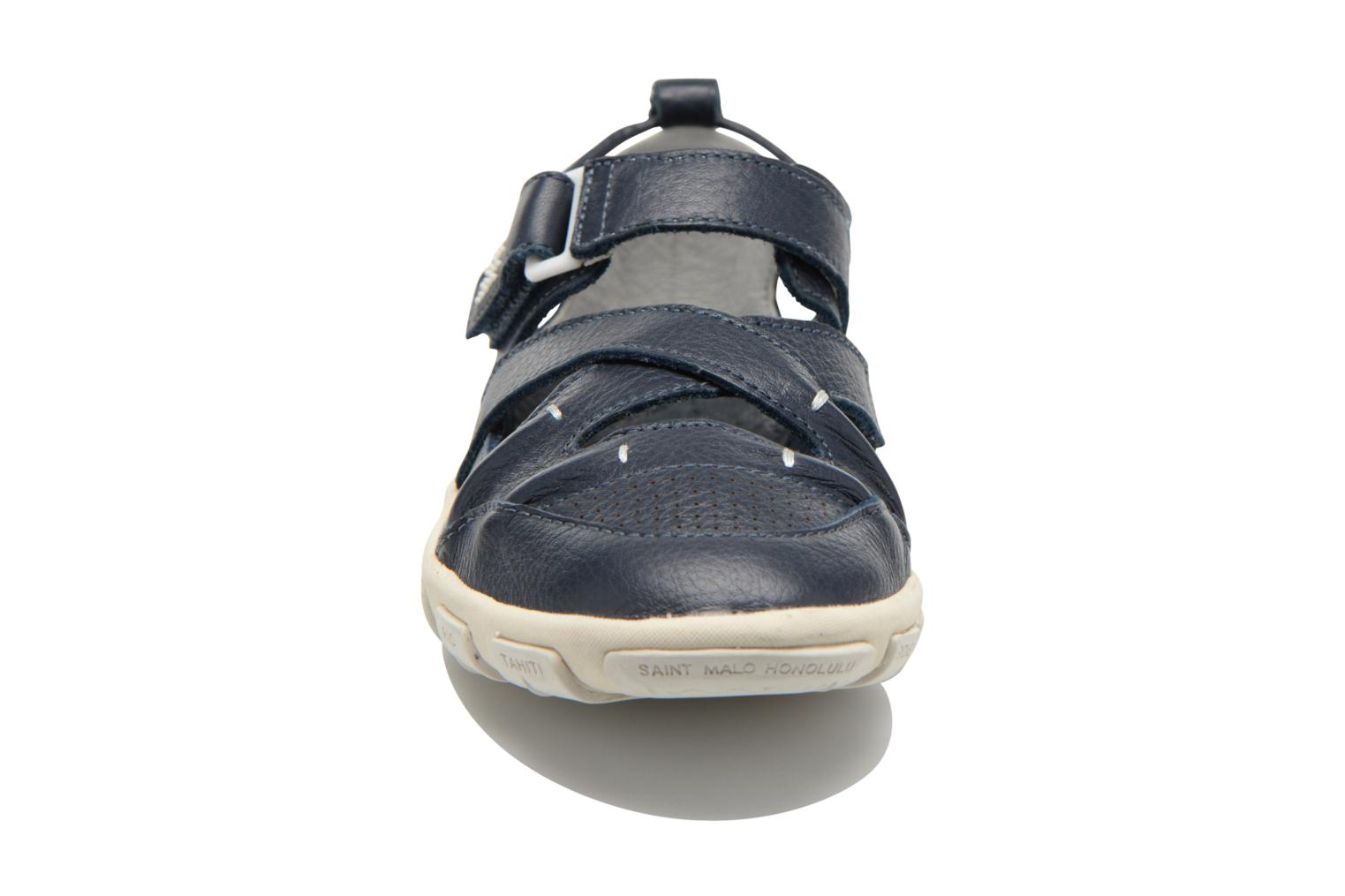 Sandals TBS Juline Blue model view