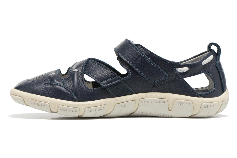 Sandales et nu-pieds TBS Juline Bleu vue face