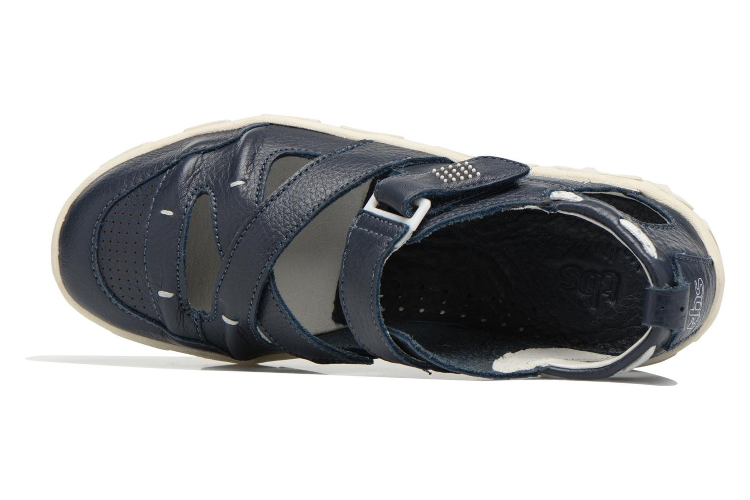 Sandals TBS Juline Blue view from the left