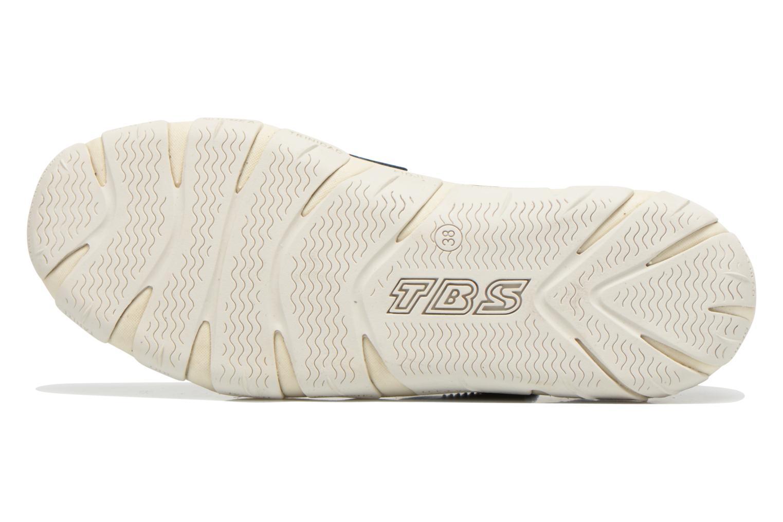 Sandalen TBS Juline blau ansicht von oben