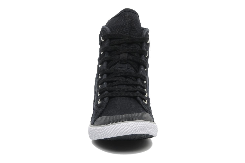 Baskets TBS Veluta Noir vue portées chaussures