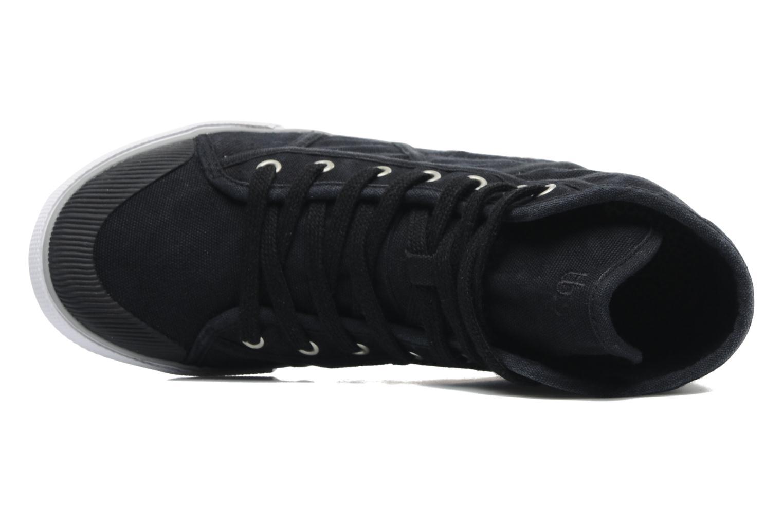 Baskets TBS Veluta Noir vue gauche