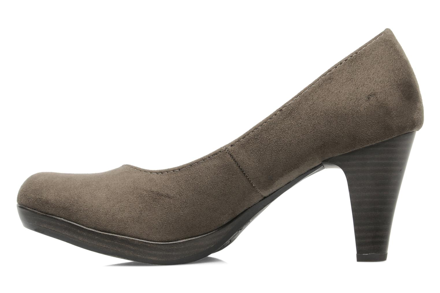High heels Marco Tozzi Soe Brown front view
