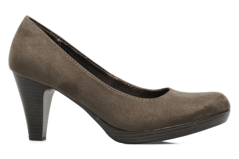 High heels Marco Tozzi Soe Brown back view