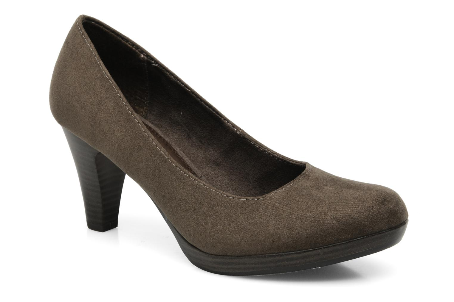 High heels Marco Tozzi Soe Brown detailed view/ Pair view