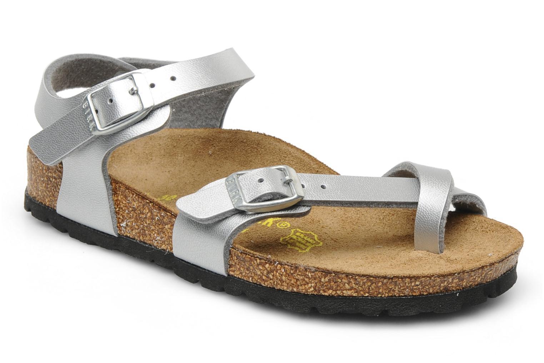 Zapatos plateado de verano Birkenstock Gizeh para mujer RGGy4p8