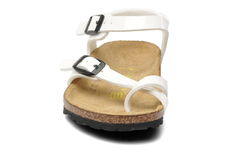 Sandalen Birkenstock Taormina Birko-Flor Wit model