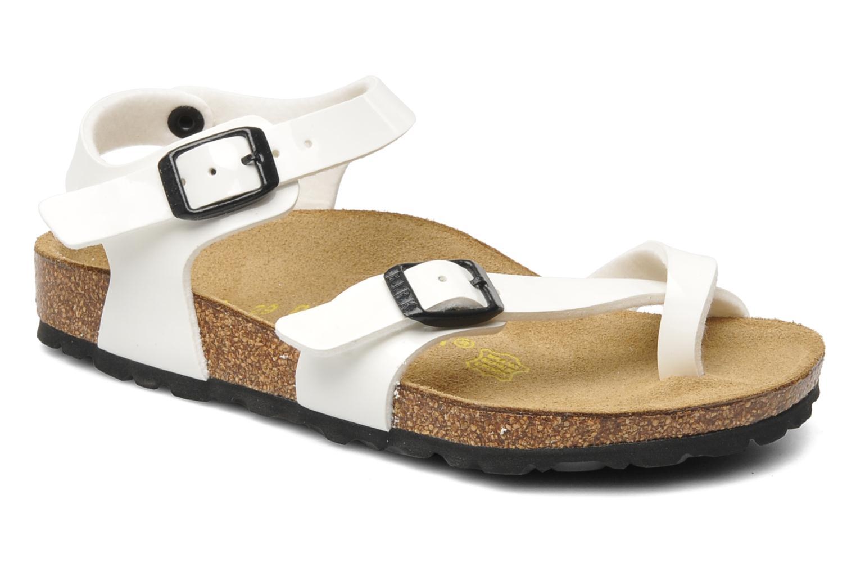 Sandalen Birkenstock Taormina Birko-Flor weiß detaillierte ansicht/modell