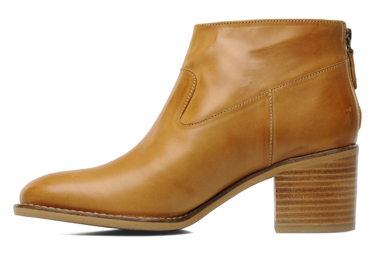 Boots en enkellaarsjes Georgia Rose Tabango Beige voorkant