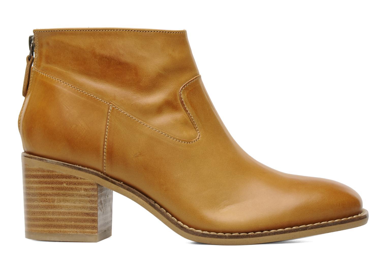 Boots en enkellaarsjes Georgia Rose Tabango Beige achterkant