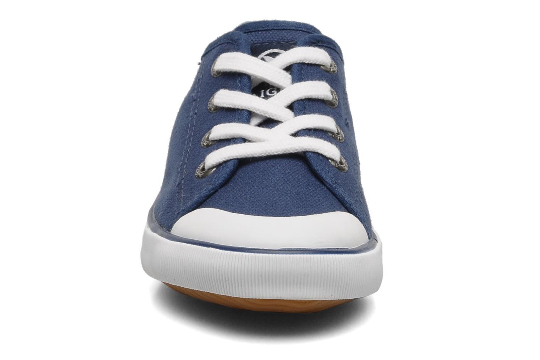 Sneaker Aigle Borizo Kid blau schuhe getragen