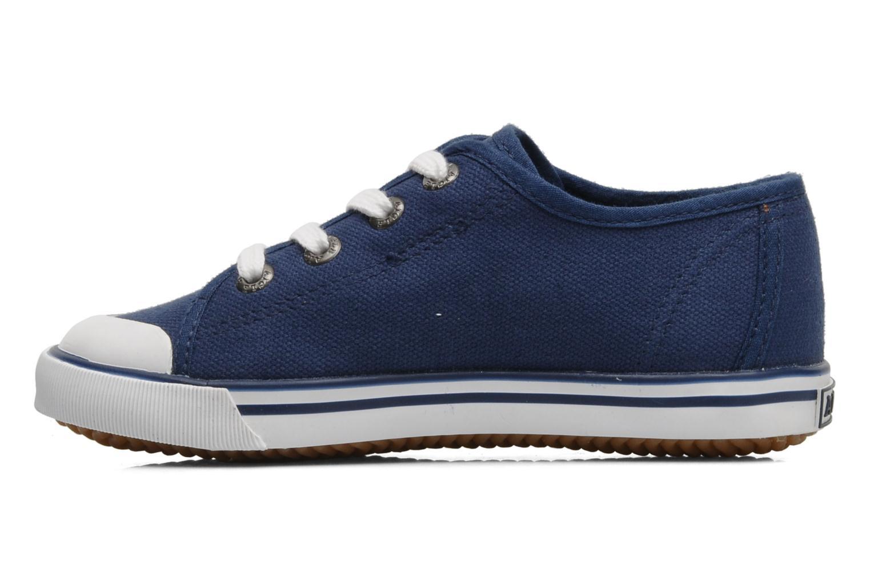 Sneaker Aigle Borizo Kid blau ansicht von vorne