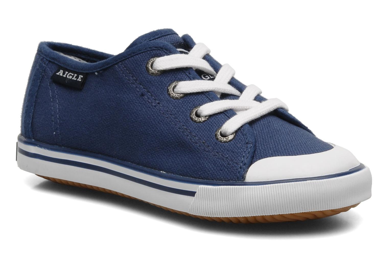 Sneaker Aigle Borizo Kid blau detaillierte ansicht/modell