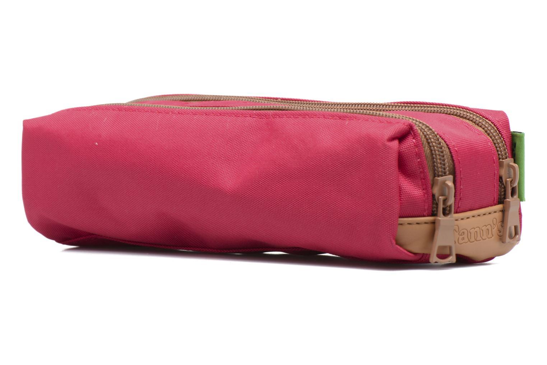 Schooltassen Tann's Trousse double CLASSIC Roze rechts