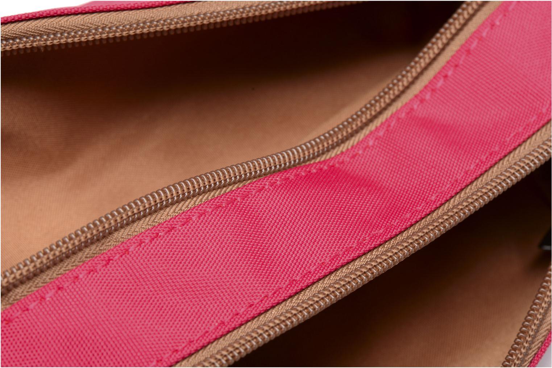 Schooltassen Tann's Trousse double CLASSIC Roze achterkant