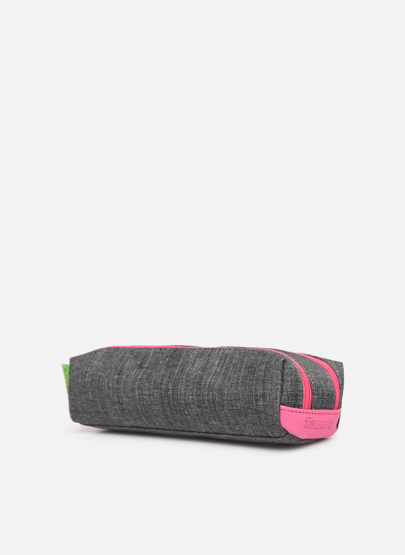 Skoletasker Tann's Trousse double CLASSIC Grå se skoene på