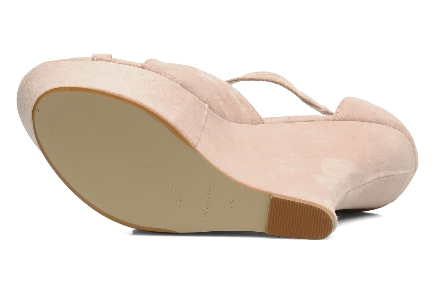 Sandalias I Love Shoes Phogen Beige vista de arriba