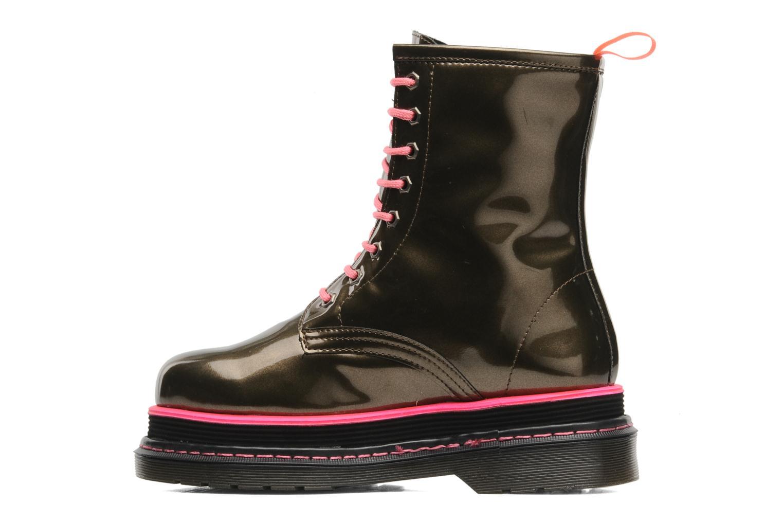 Boots en enkellaarsjes Buffalo Oceano Goud en brons voorkant