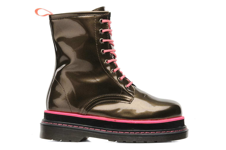Stiefeletten & Boots Buffalo Oceano gold/bronze ansicht von hinten