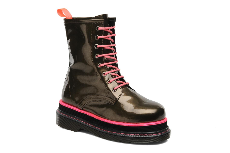 Boots en enkellaarsjes Buffalo Oceano Goud en brons detail