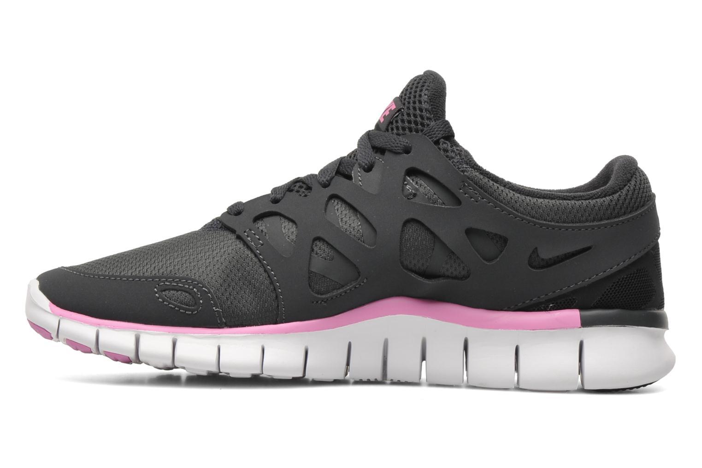 Sportschoenen Nike Wmns Nike Free Run+ 2 Ext Grijs voorkant