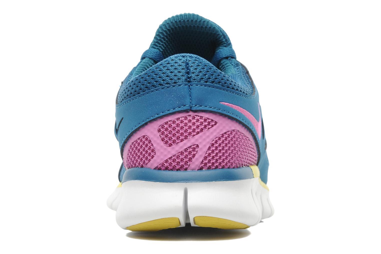 Chaussures de sport Nike Wmns Nike Free Run+ 2 Ext Bleu vue droite