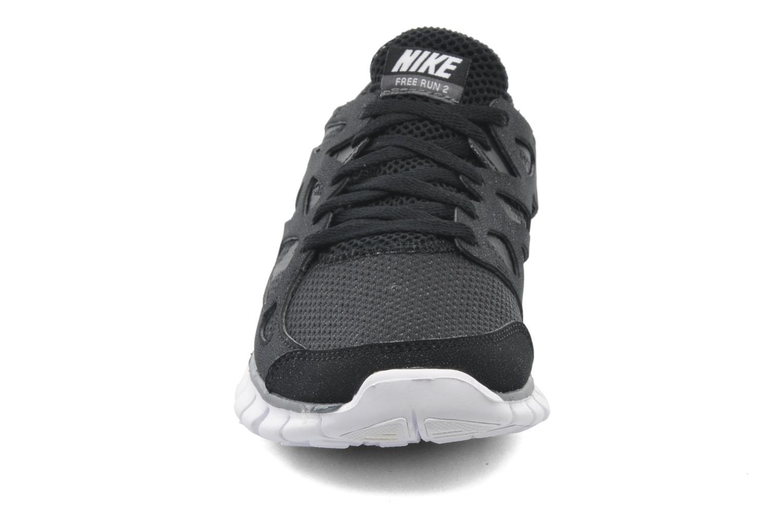 Chaussures de sport Nike Wmns Nike Free Run+ 2 Ext Noir vue portées chaussures