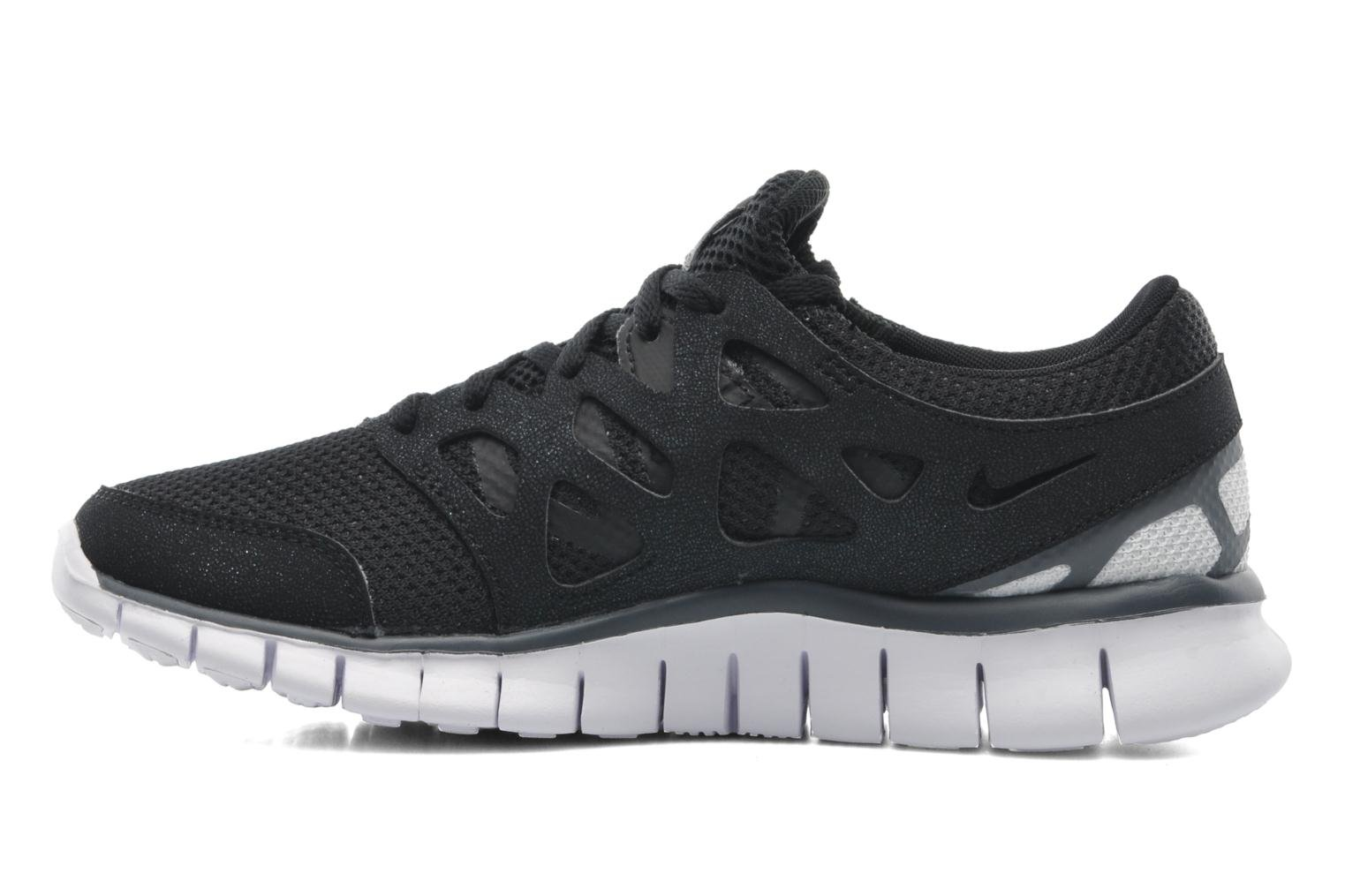 Wmns Nike Free Run+ 2 Ext Black/White-Dark Grey-White
