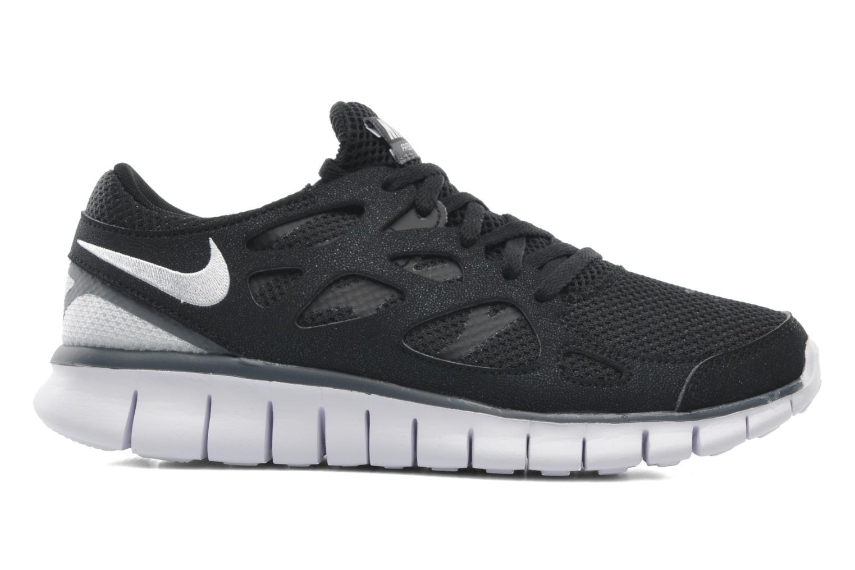 Chaussures de sport Nike Wmns Nike Free Run+ 2 Ext Noir vue derrière