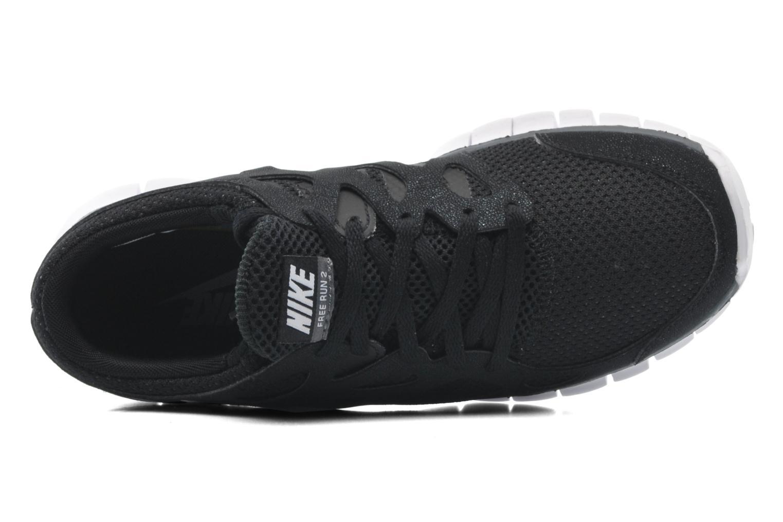Sportschuhe Nike Wmns Nike Free Run+ 2 Ext schwarz ansicht von links