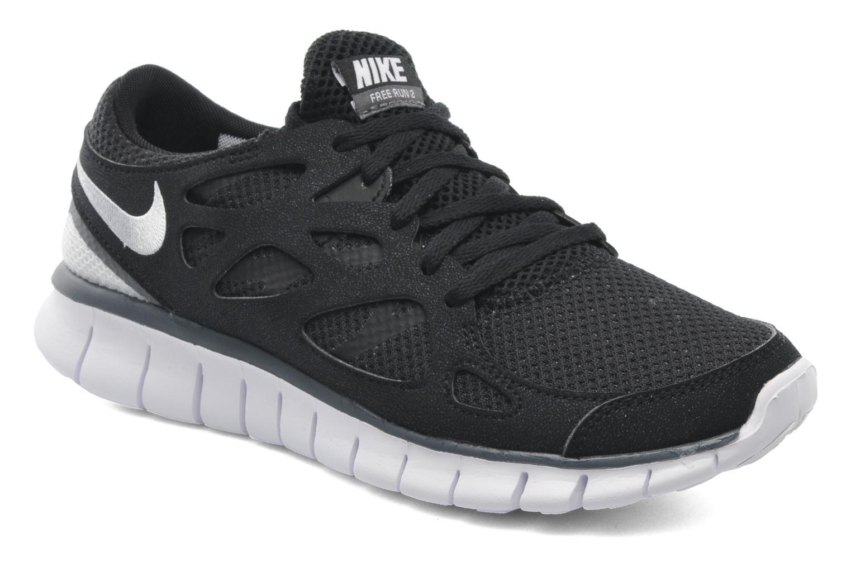 Chaussures de sport Nike Wmns Nike Free Run+ 2 Ext Noir vue détail/paire