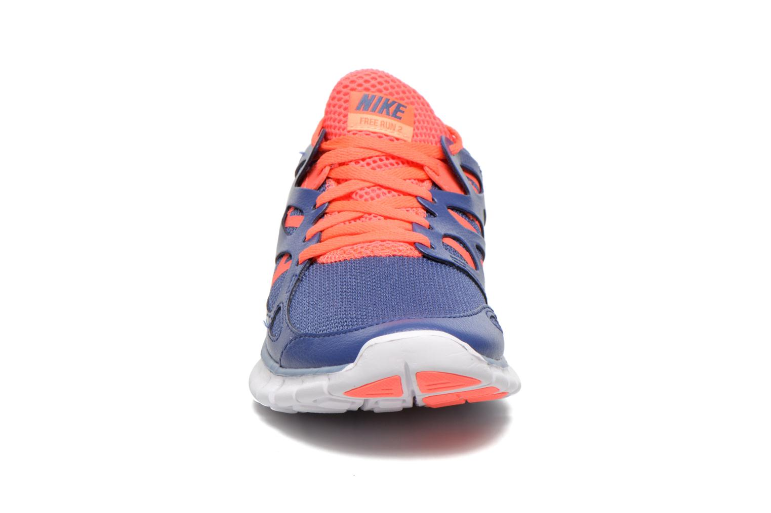 Sport shoes Nike Wmns Nike Free Run+ 2 Ext Blue model view