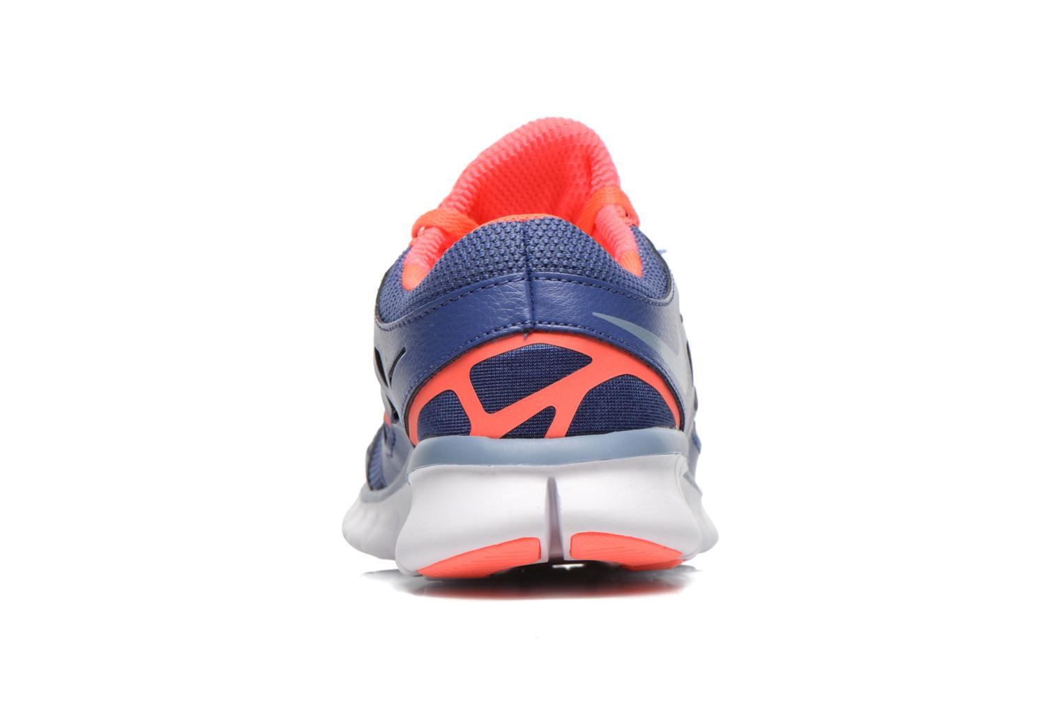 Sport shoes Nike Wmns Nike Free Run+ 2 Ext Blue view from the right