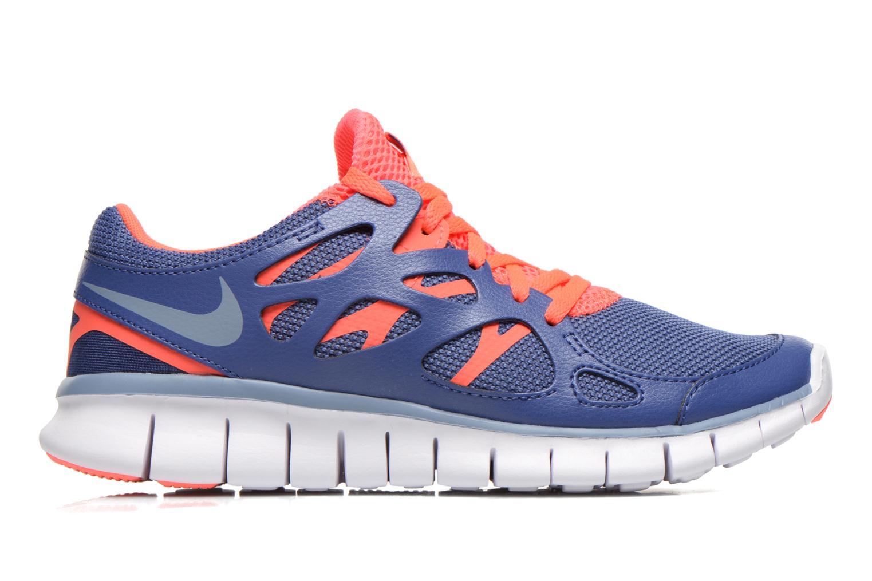 Sportschuhe Nike Wmns Nike Free Run+ 2 Ext blau ansicht von hinten