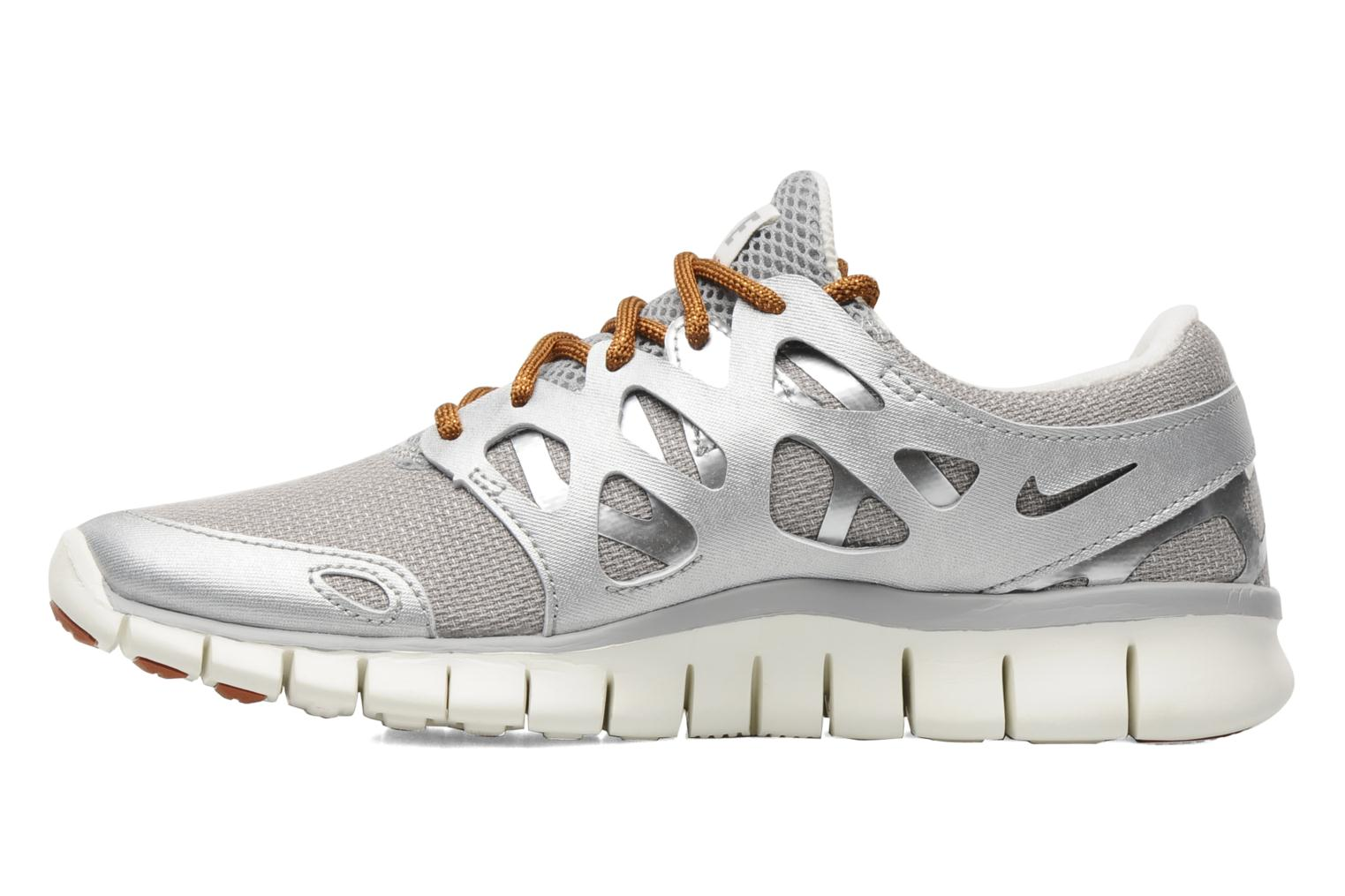 Sport shoes Nike Wmns Nike Free Run+ 2 Prm Ext Silver front view
