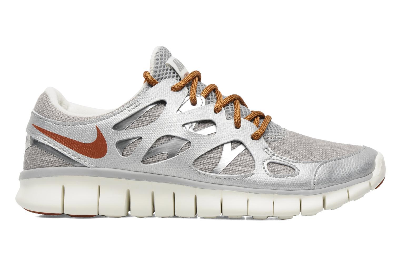 Chaussures de sport Nike Wmns Nike Free Run+ 2 Prm Ext Argent vue derrière
