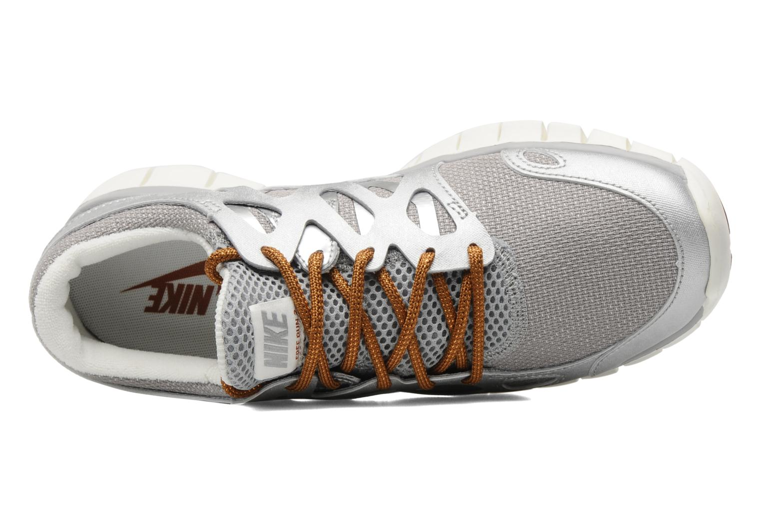 Sport shoes Nike Wmns Nike Free Run+ 2 Prm Ext Silver view from the left