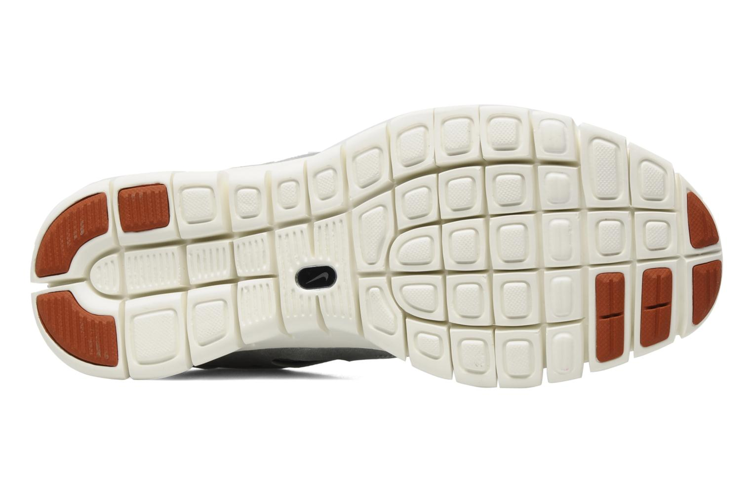 Sport shoes Nike Wmns Nike Free Run+ 2 Prm Ext Silver view from above