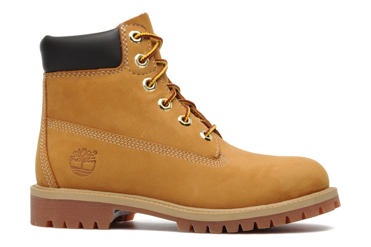 Ankle boots Timberland 6 In Premium WP Boot Beige back view